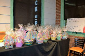 Easter Baskets for Community Partners of Dallas kids- Charity Events North Texas- Insurance Professional Network in Dallas