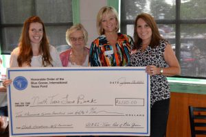 Presenting a charity check to North Texas Food Bank- Charity Events North Texas- Insurance Professional Network in Dallas