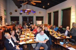 Blue Goose Texas Pond Monthly Meeting at On The Border in Addison, Texas